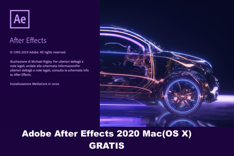Installare Adobe AfterEffects 2020 su Mac GRATIS!