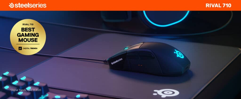 SteelSeries Rival 710 miglior mouse